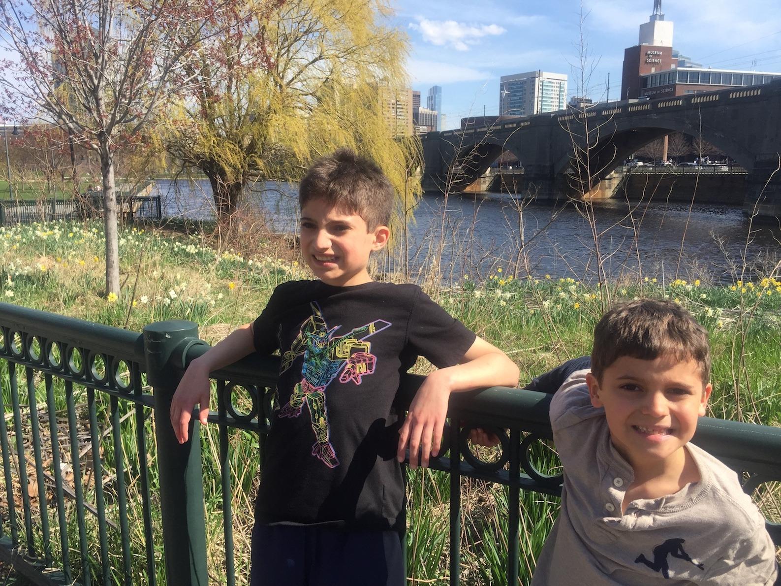 Boys in Boston river Retirement Strategy www.thethreeyearexperiment.com
