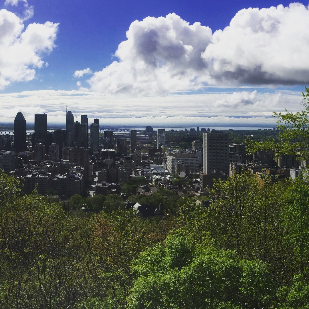 A view of Montreal weekend in Montreal
