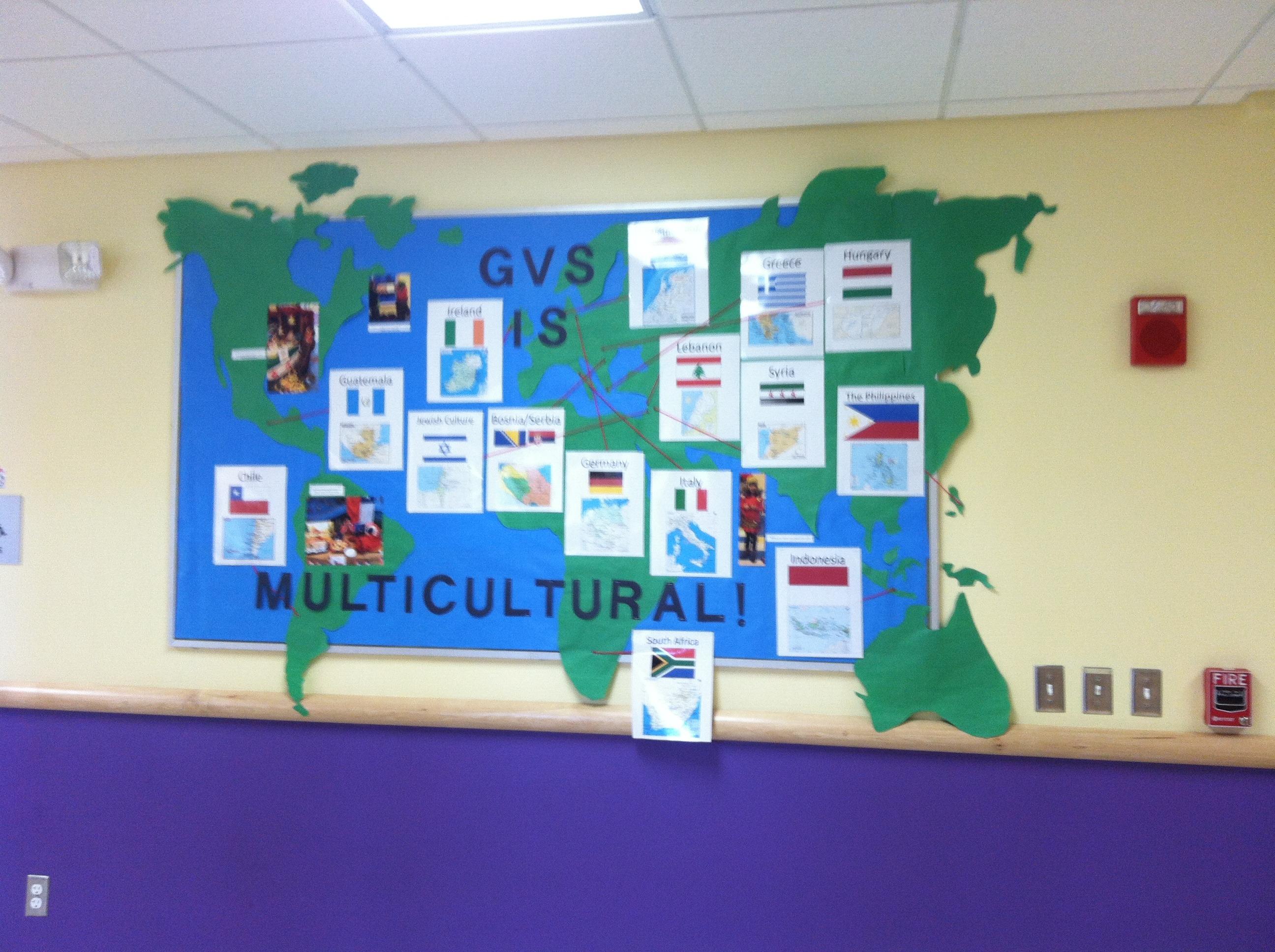 www.thethreeyearexperiment.com Multicultural bulletin board