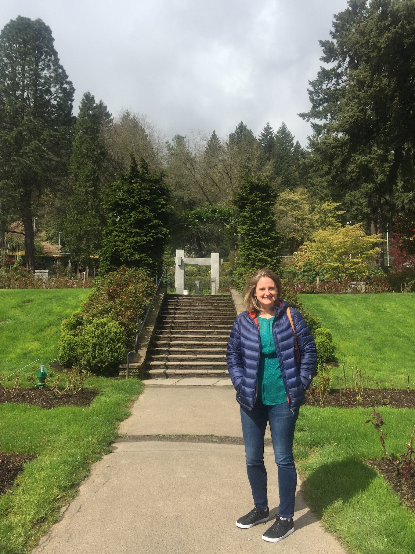 Rose Garden, Portland Oregon www.thethreeyearexperiment.com