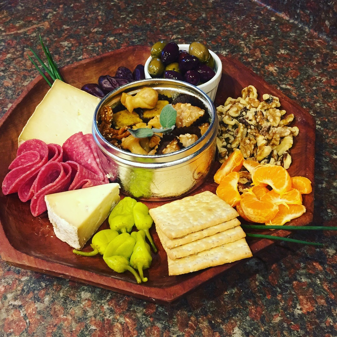 Pinterest Cheese Plate May Survive the Move www.thethreeyearexperiment.com