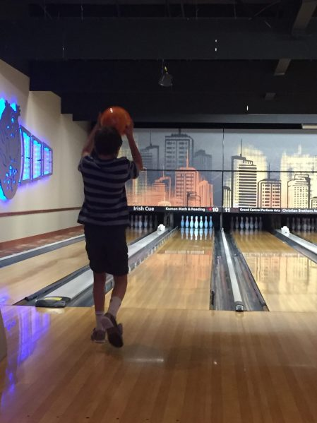 Bowling fun www.thethreeyearexperiment.com