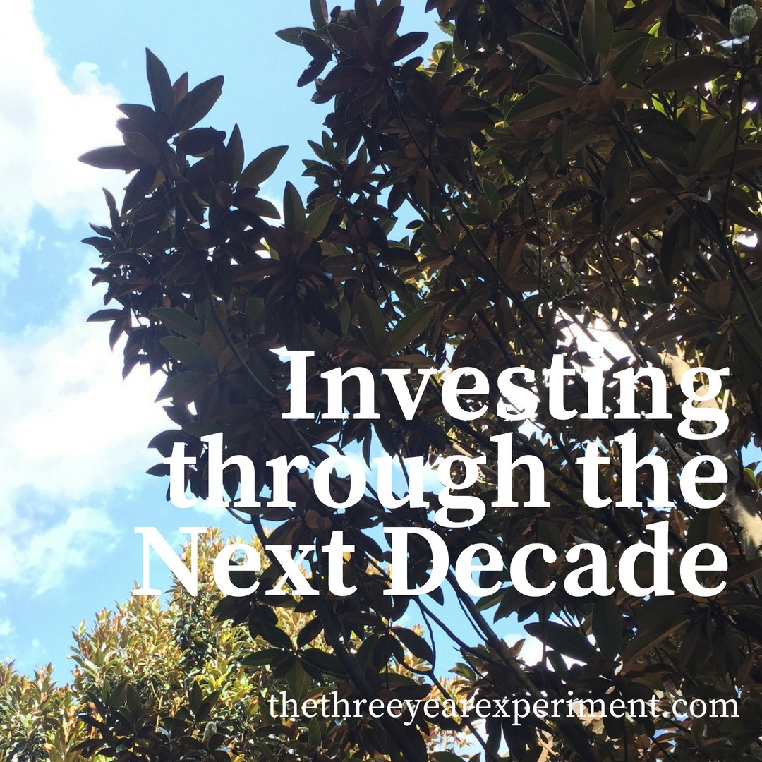 Investing through the Next Decade www.thethreeyearexperiment.com