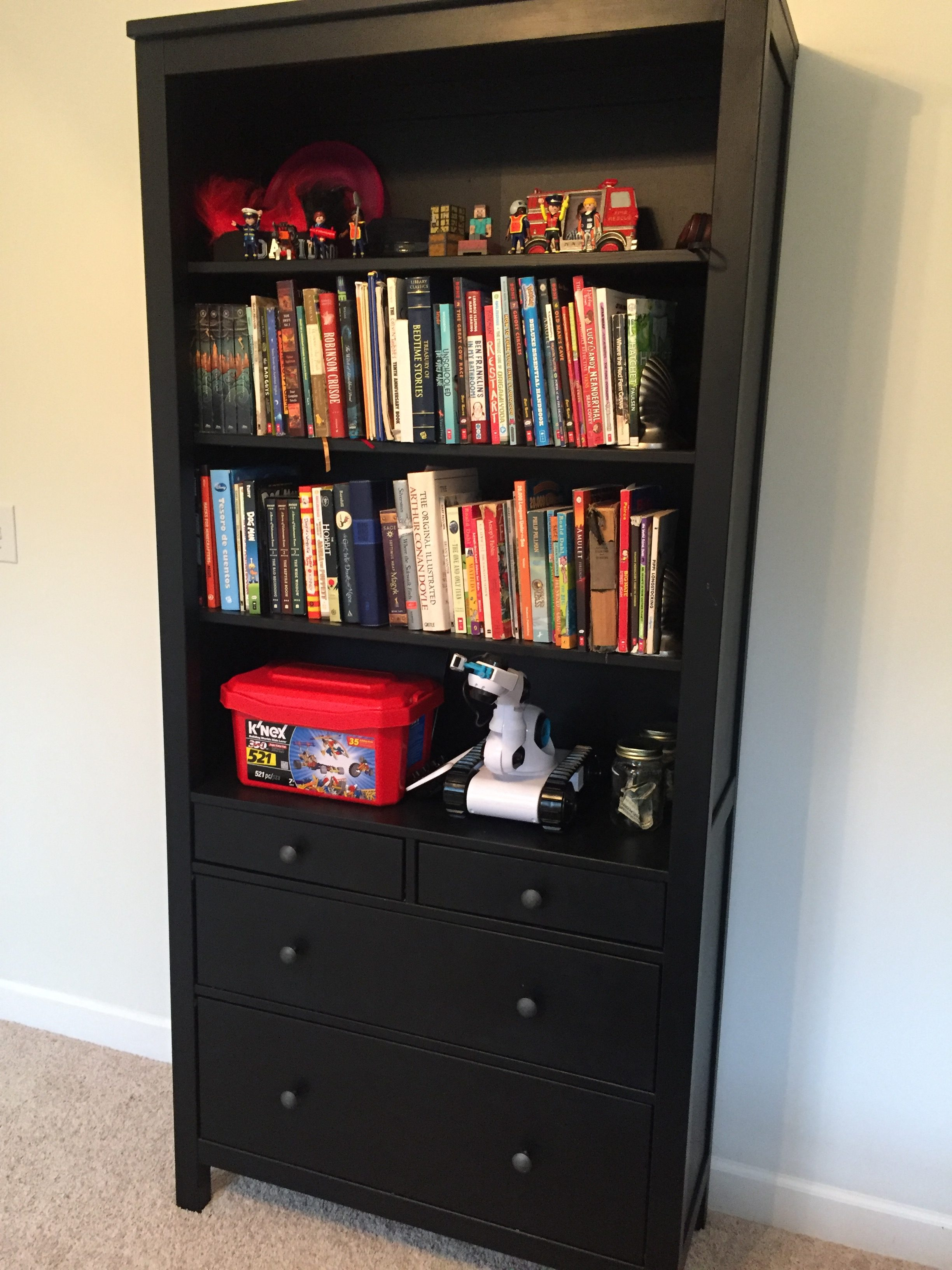 New dresser/bookcase www.thethreeyearexperiment.com