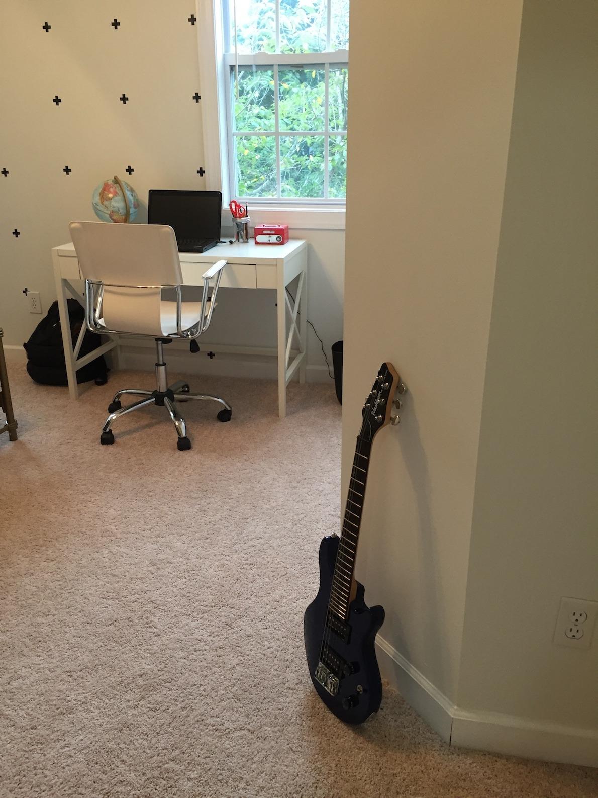 Entrance guitar www.thethreeyearexperiment.com