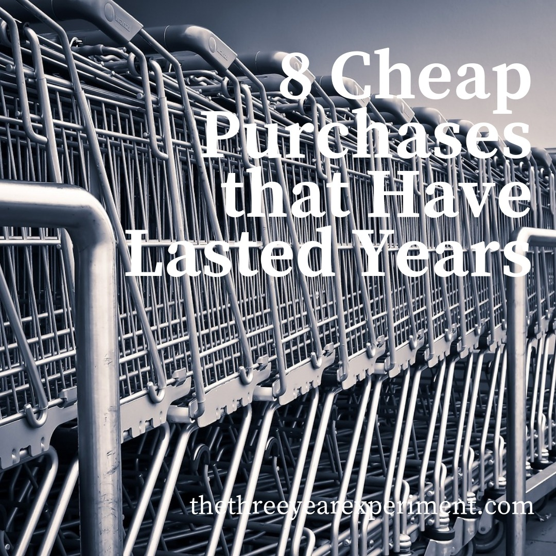 8 Cheap Purchases that Have Lasted Years