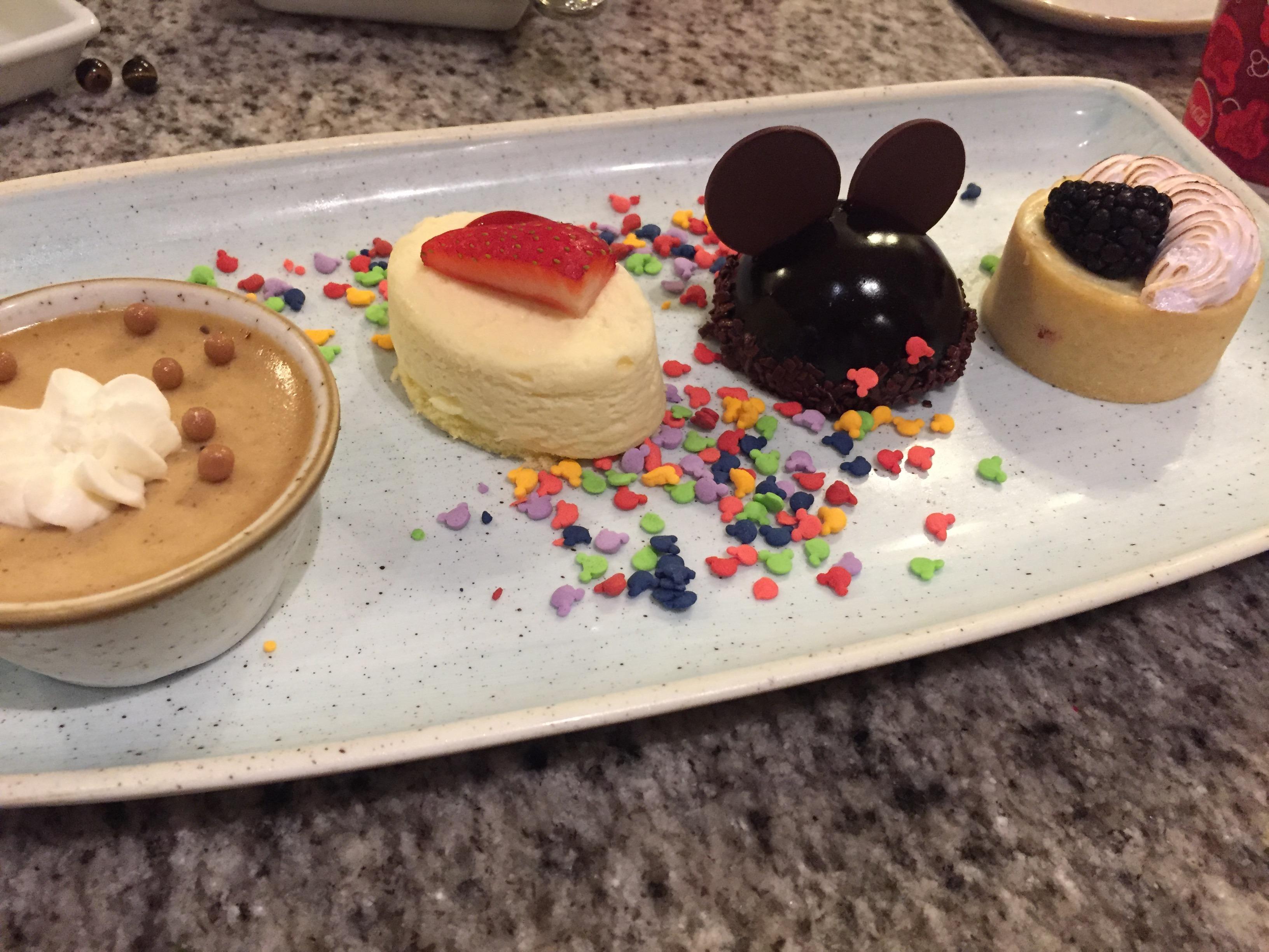 Dessert Grand Floridian Cafe www.thethreeyearexperiment.com
