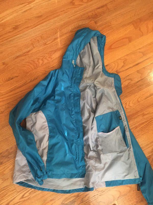 Stearns rain jacket www.thethreeyearexperiment.com
