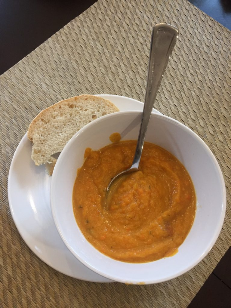 root vegetable soup www.thethreeyearexperiment.com