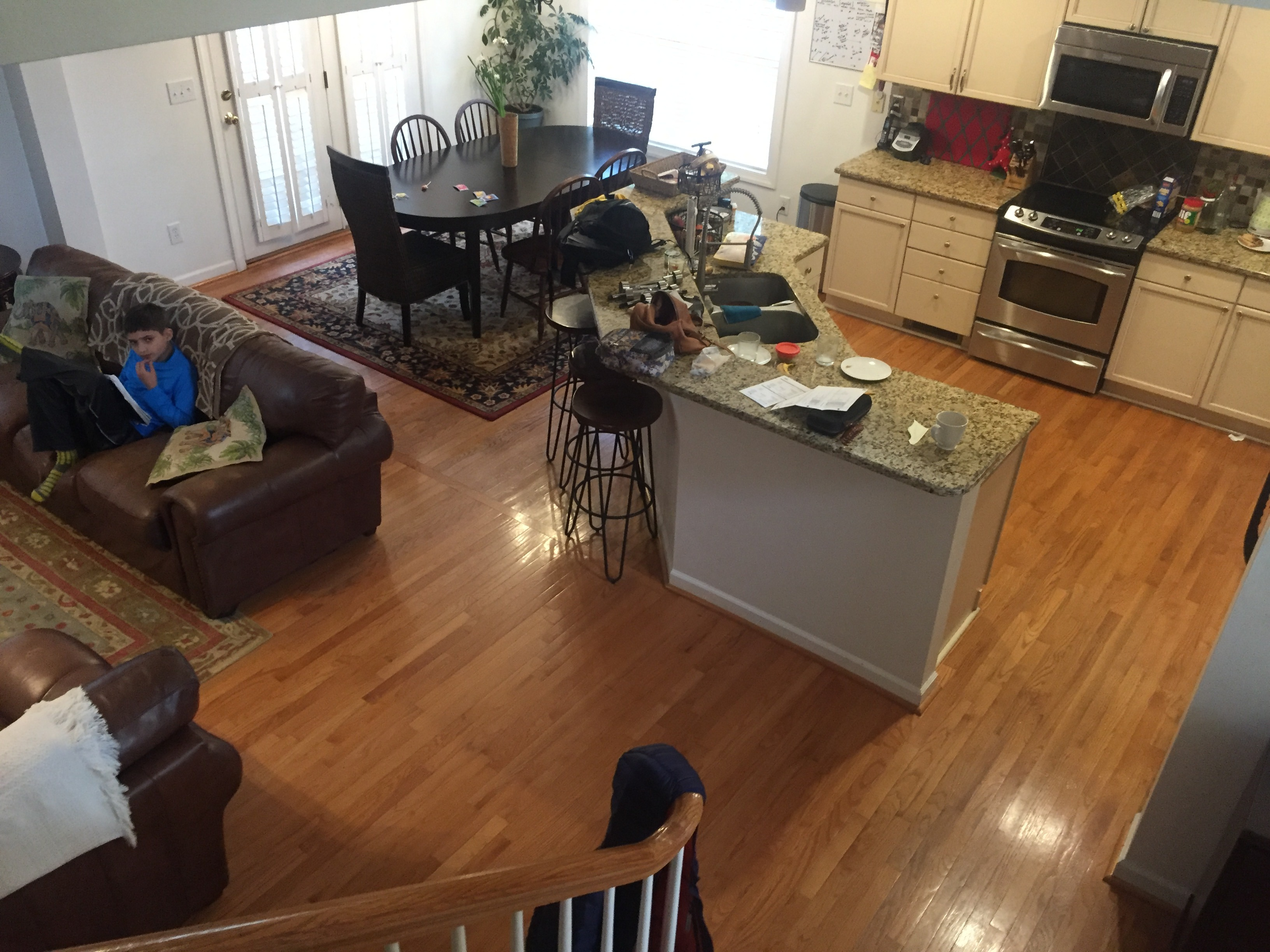 main living space www.thethreeyearexperiment.com
