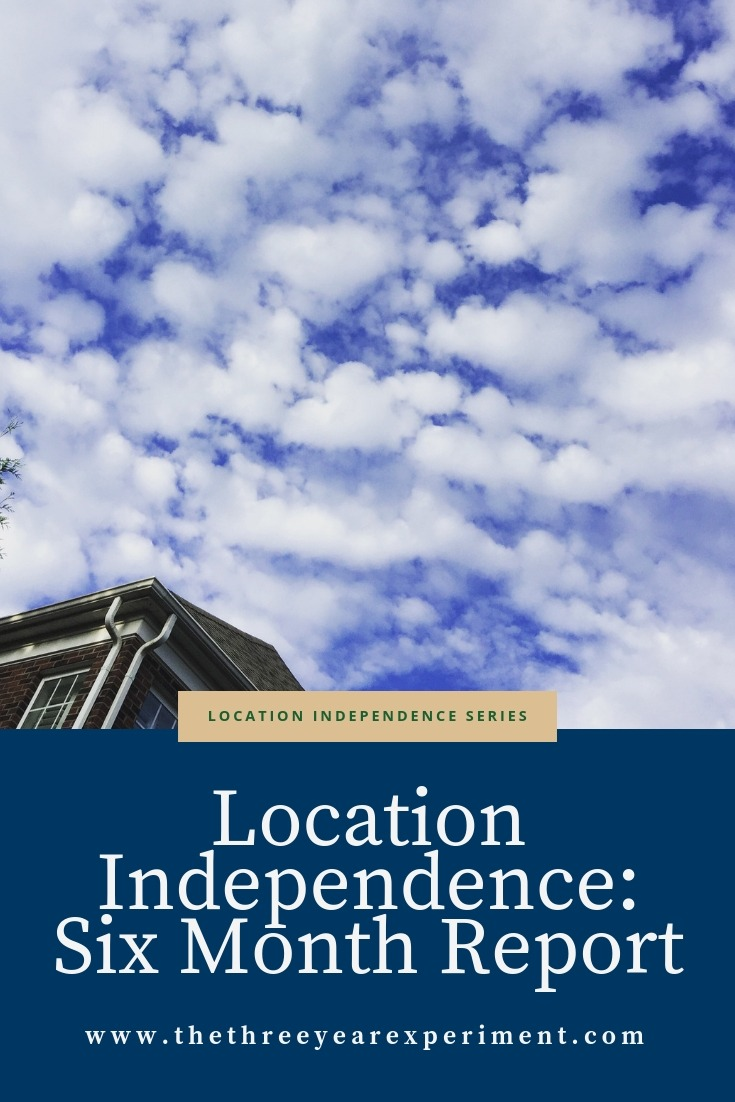 Location Independence Six Months In www.thethreeyearexperiment.com