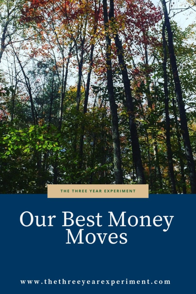 We've made both good, and bad, money moves in our fifteen years of marriage. Here's a list of our smartest financial moves to date. @lauriethreeyear #fi #smartfinancialmoves #personalfinance
