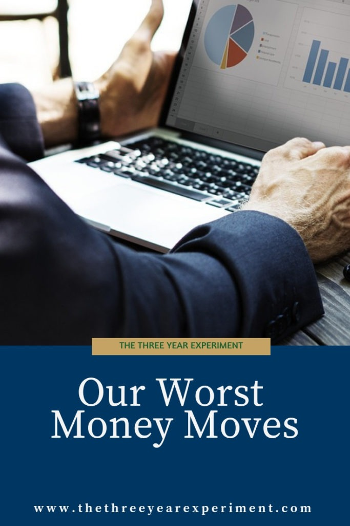 Have you ever made a really dumb money move? Here's a list of some financial decisions we wish we could go back and redo! @lauriethreeyear #financialindependence #worstmoneymoves #budgeting #cars #debt