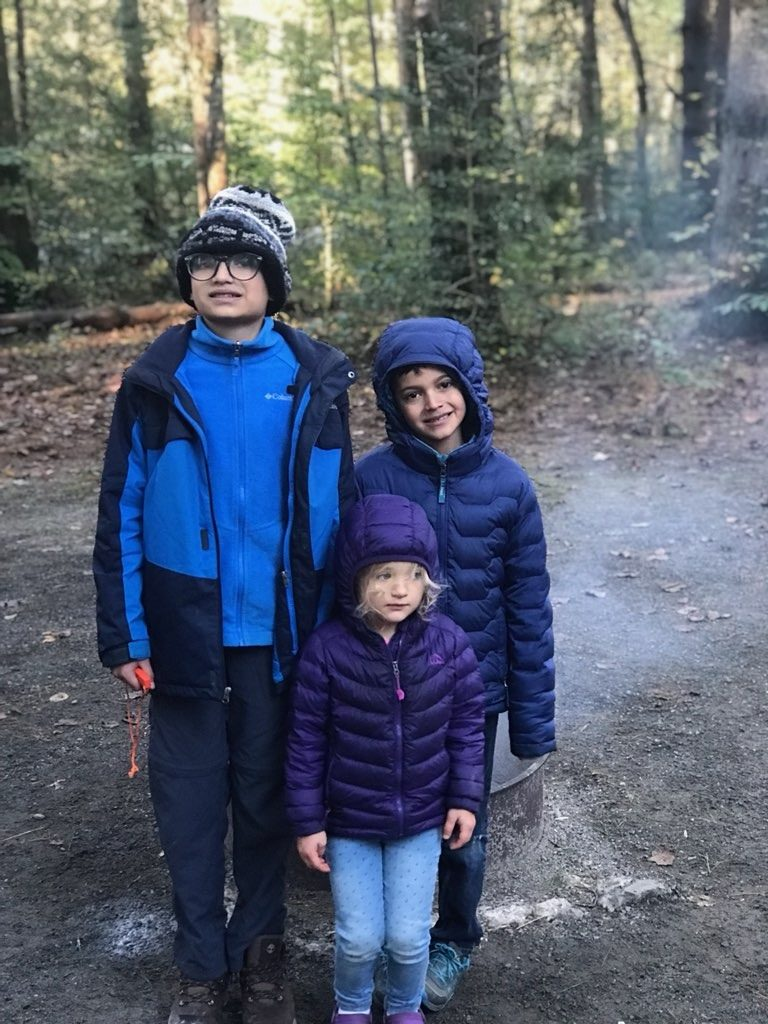 Camping trip kids www.thethreeyearexperiment.com