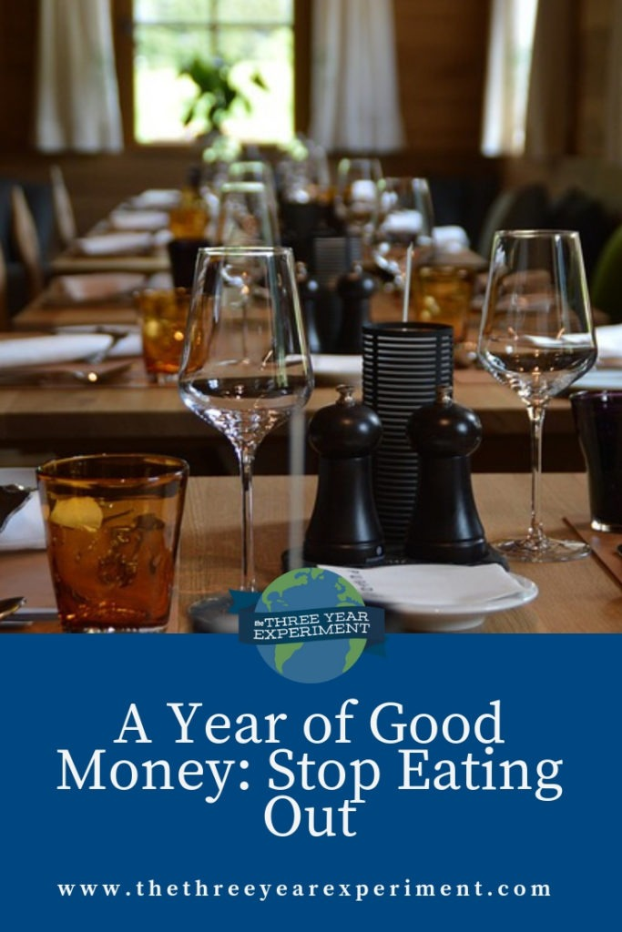 How much could you save if you stopped eating out? We're going to find out. @lauriethreeyear #cuteatingout #stopeatingout #eatingout #restaurants #frugality #personalfinance