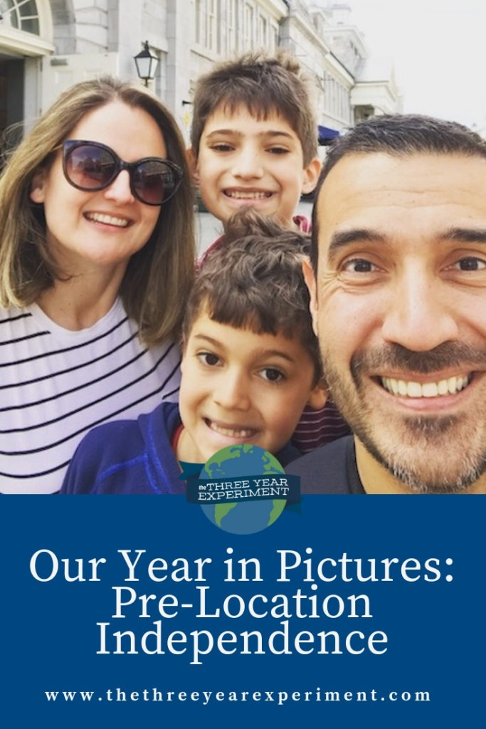 Here's a look at 2018 and all the steps leading up to our location independence mid-year. @lauriethreeyear #locationindependence #yearinpictures #yearlyphotos #yearbook