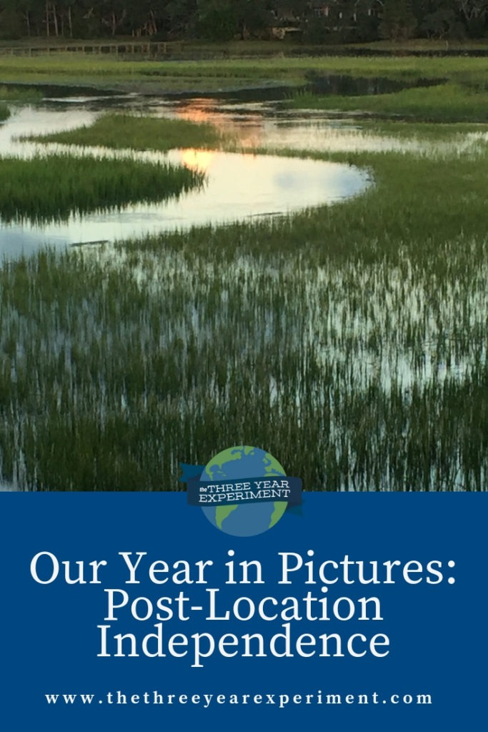 Here's a look at 2018 and everything that happened after we became location independent! @lauriethreeyear #locationindependence #yearinpictures #yearlyphotos #yearbook