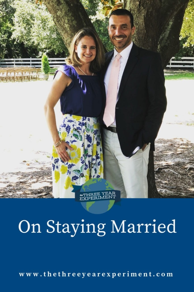 The messy, humbling, and downright hard business of being and staying married can feel thankless, but it's work I've determined is my best bet for longterm happiness. Here's why I'm trying to take nothing for granted. @lauriethreeyear #marriage #marriageandmoney #familyfinances