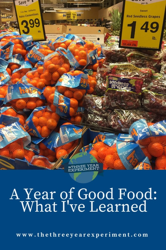 In 2018, our family of four lowered our grocery budget by 20%. That might not sound like much, but we saved over $200 per month, or $2400 in a year, by following these tips. @lauriethreeyear #grocerybudget #foodspending #cutyourmonthlygrocerybill #foodbudget #spendlessonfood