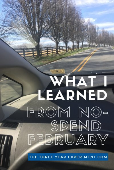 I've never successfully completed a No Spend Month, until now. Here's what I learned from my No Spend February challenge. #nospendfebruary #nospendmonth #nospend #frugalfebruary #nobuymonth #debtfree #financialindependence