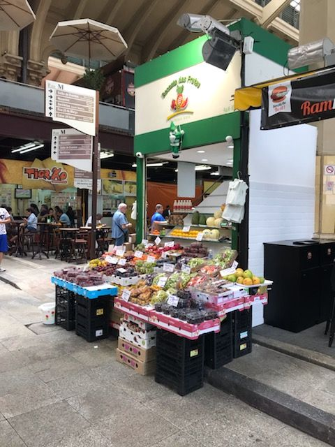 Brazilian fruit market