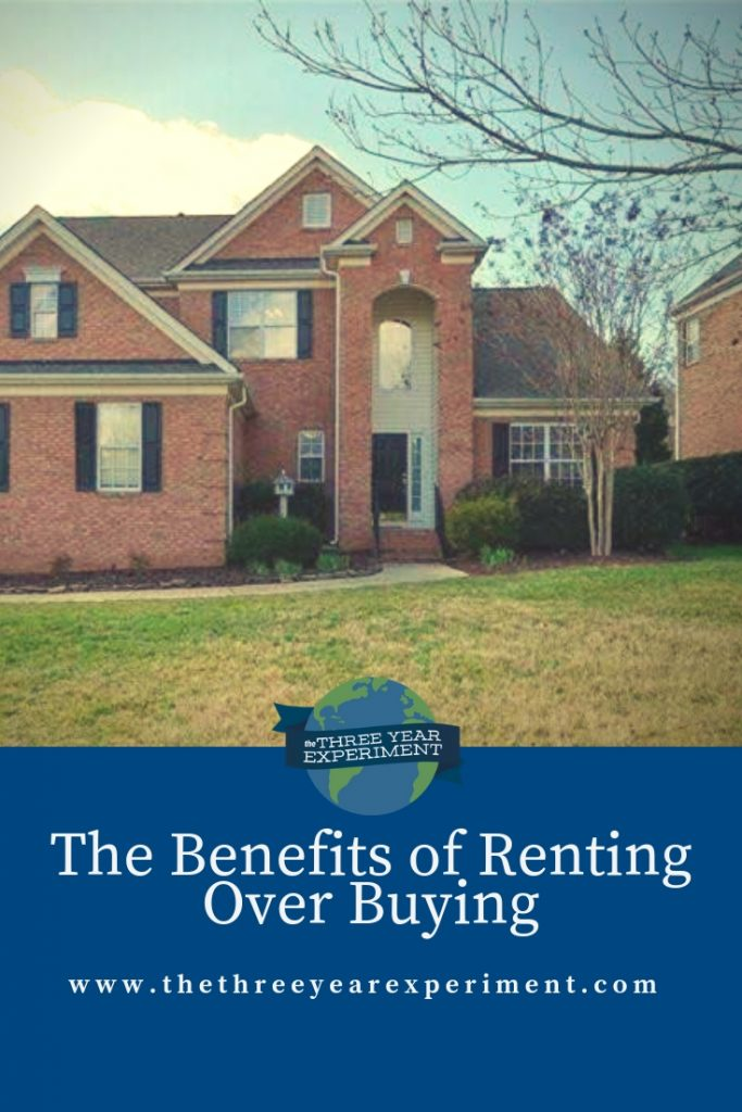 We've heard most of the rent vs. buy arguments, but there are other reasons renting rocks. What do you think? Would you choose renting over buying? via @lauriethreeyear #rentingoverbuying #rentvsbuy #rentorbuy #homeowner