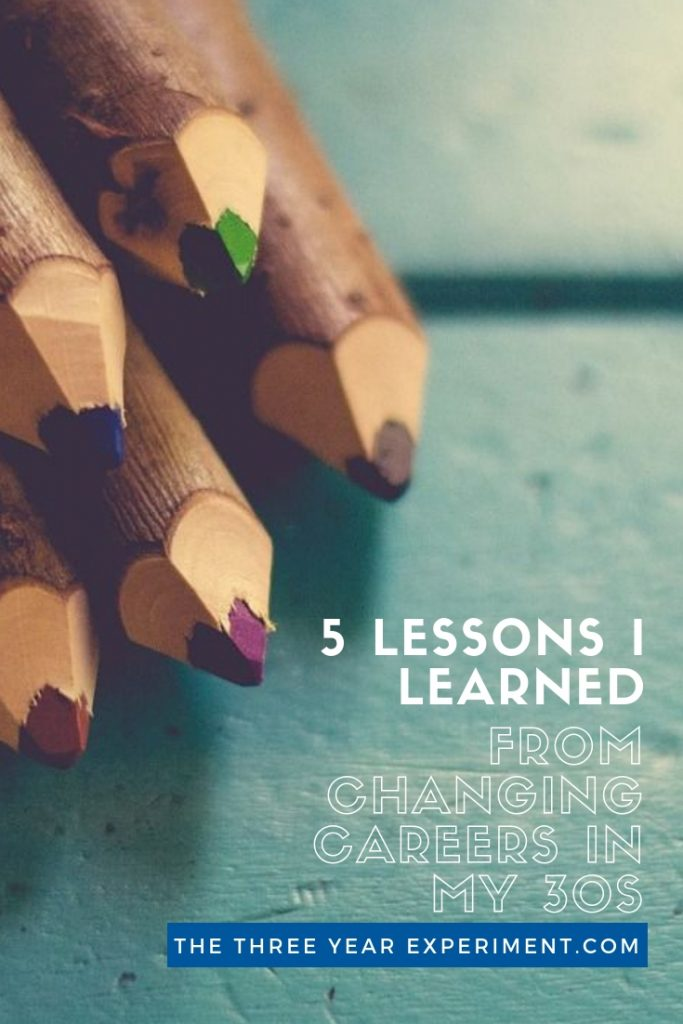 Thinking of changing careers? Changing jobs can be very rewarding, but there's a steep learning curve and lots of humility involved in learning something new. Here are 5 lessons I learned when I became an educator. #teaching #education #careerchange #changingcareers #changingjobs