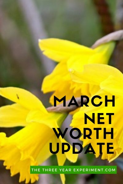 How much did we increase our net worth in March? After our Frugal February, did our spending spiral out of control in March? Here are all the details of our saving and spending in March. #networthupdate #fi #financialindependence #fire #saving #budgeting #spending