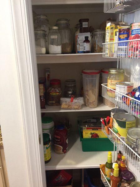 Pantry inventory www.thethreeyearexperiment.com