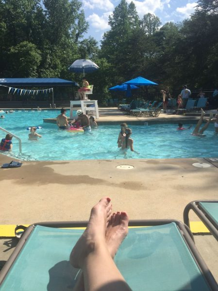 frugality under-scheduling pool day www.thethreeyearexperiment.com