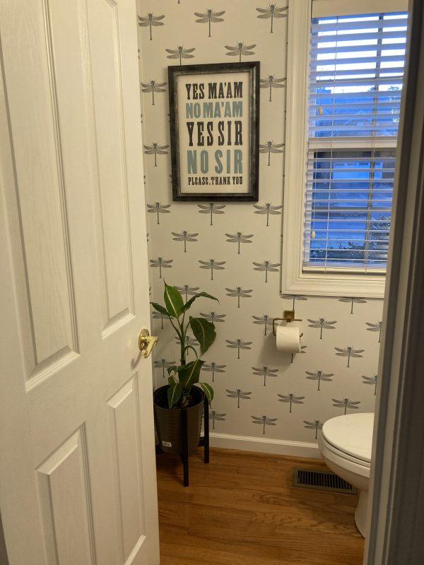 bathroom makeover